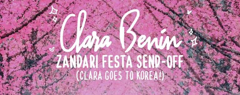 Clara Benin's Korea Send-Off!