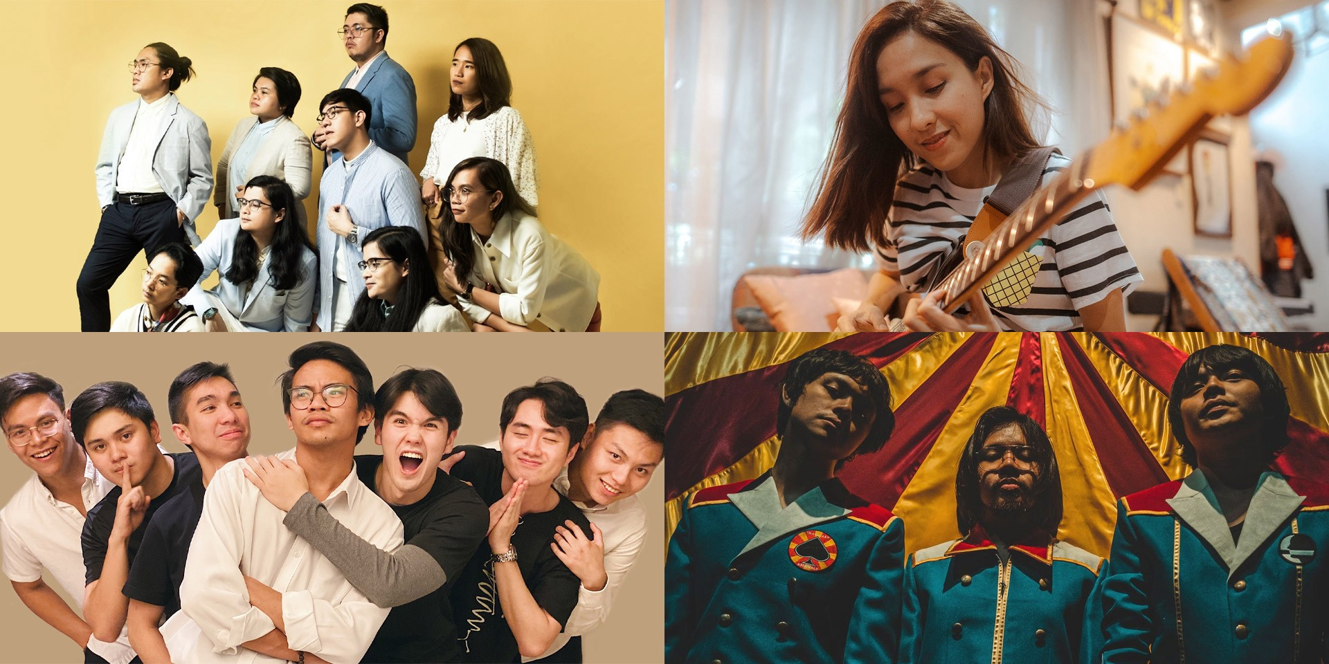 Ben&Ben, IV of Spades, Lola Amour, Barbie Almalbis, and more nominated at the 33rd Awit Awards