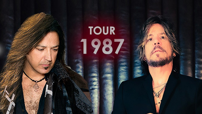 BT - Tour '87 featuring Michael Sweet & Tony Harnell - September 25, 2020, doors 6:30pm