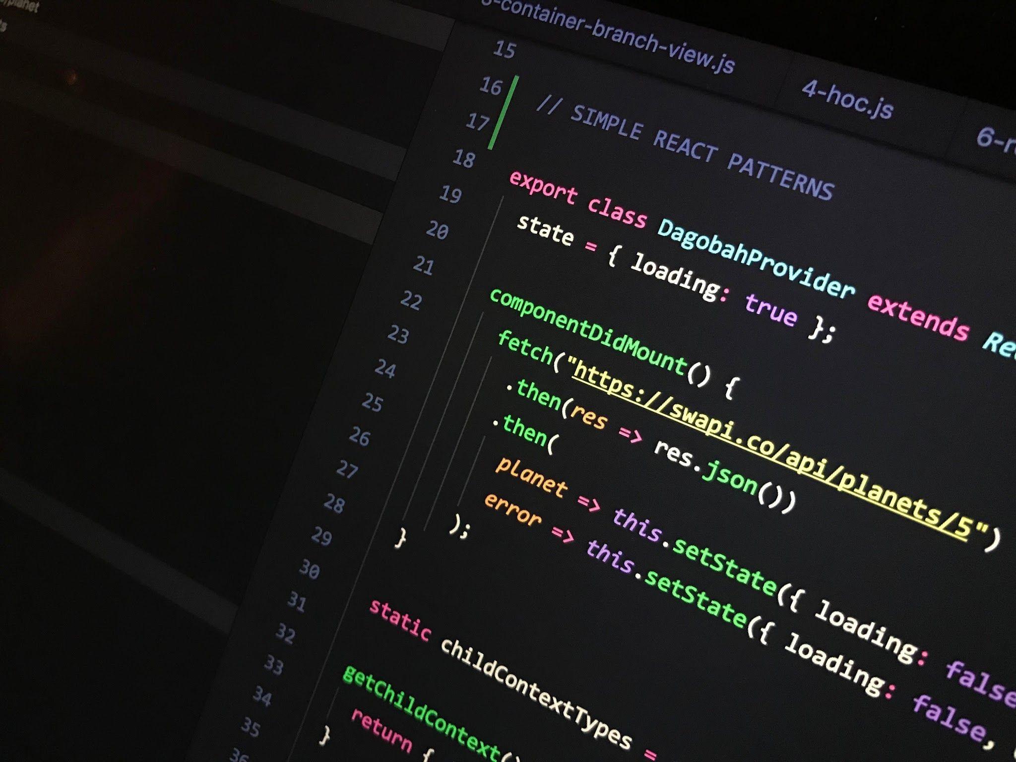 Simple React Patterns Codementor