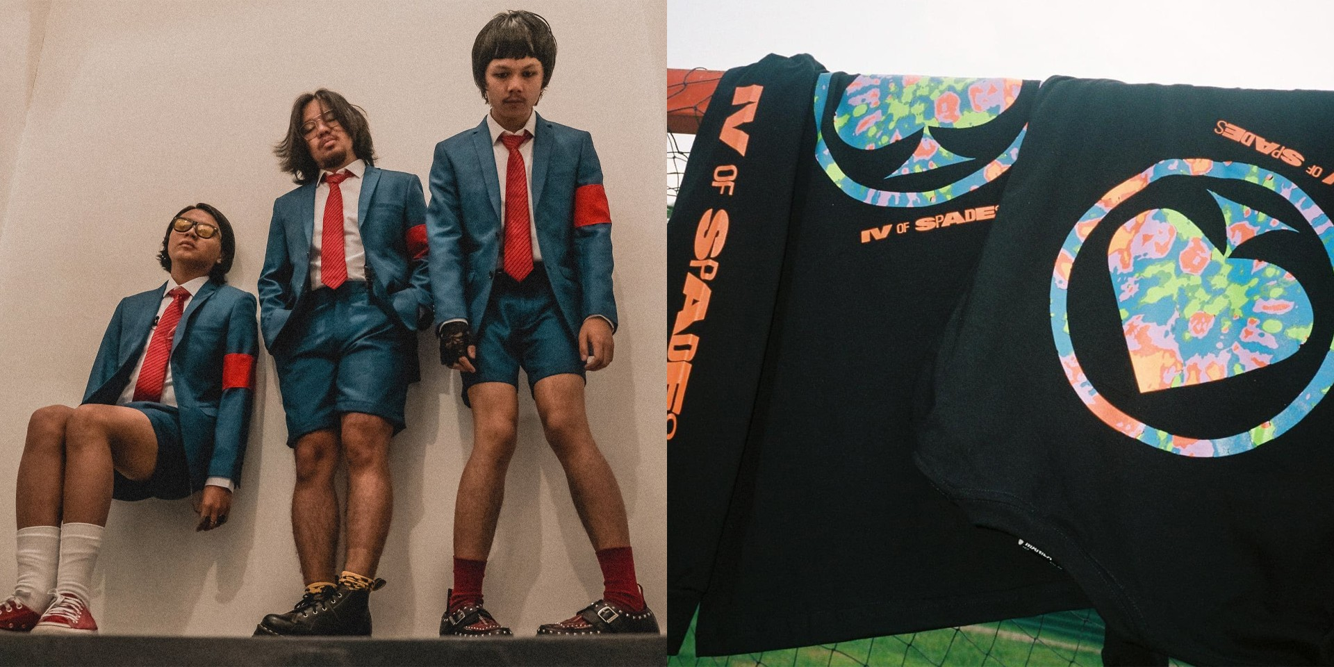 IV Of Spades collaborate with Team Manila for limited edition merch