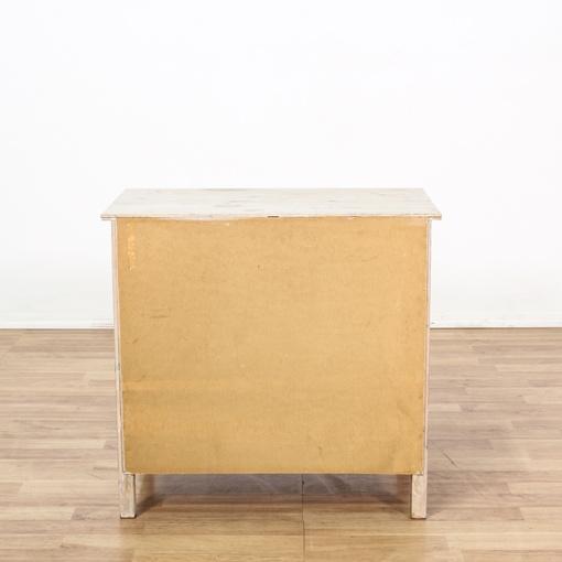 Blonde Wood 3 Drawer Dresser Loveseat Vintage Furniture