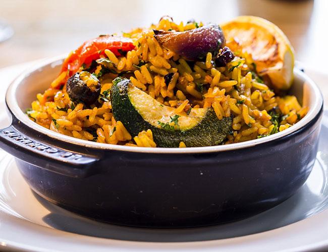 Lussmann's vegetarian paella