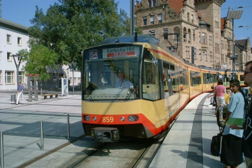 Duospårvagn i Heilbronn. Bild: Klaus with K (CC 3.0)
