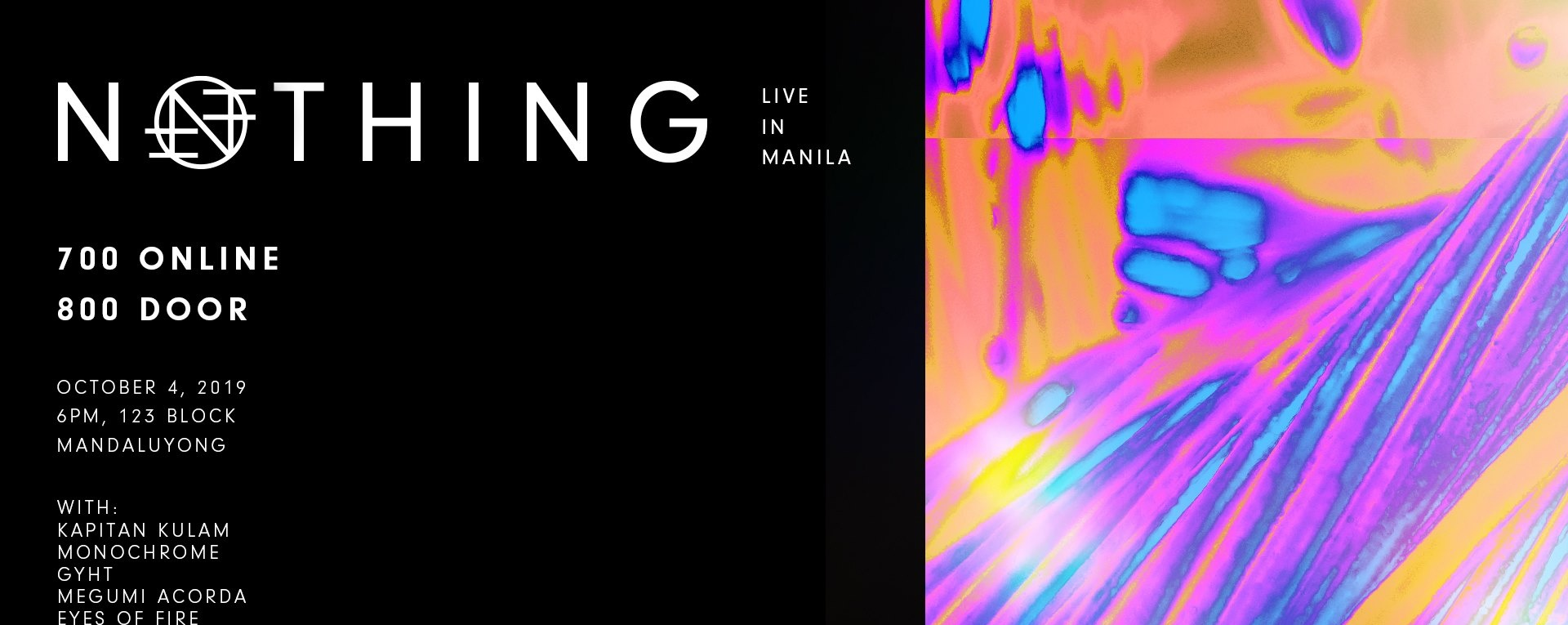 Nothing (US) - Live in Manila