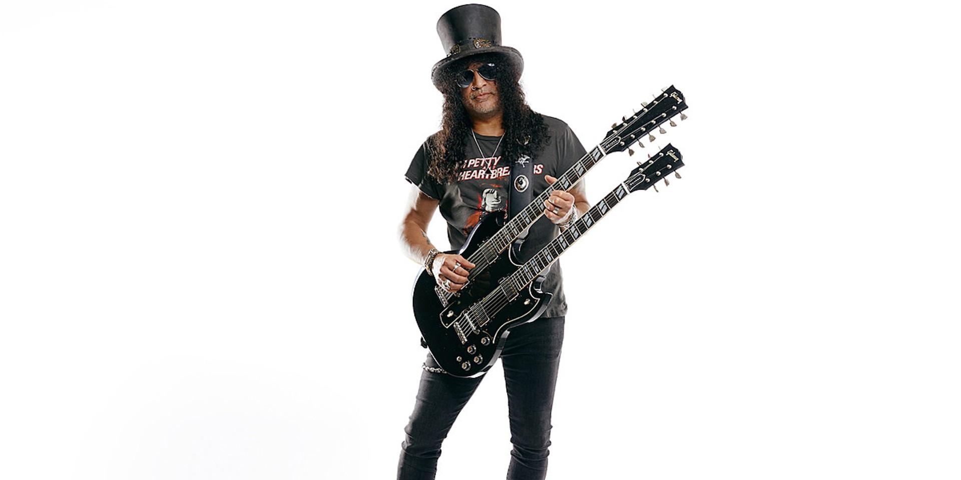 Gibson announces new Slash double-neck guitar