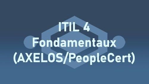 Représentation de la formation : ITIL 4 Fondamentaux