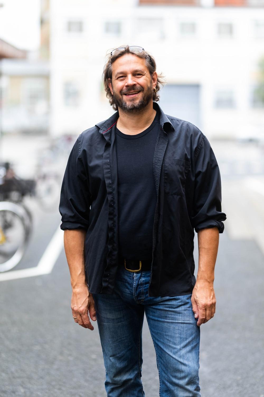 Kasper Sørensen, medverkar i Story Fight Night och Captivated på Berättarfestivalen 2020. Foto: Evald Munksgaard Hansen.