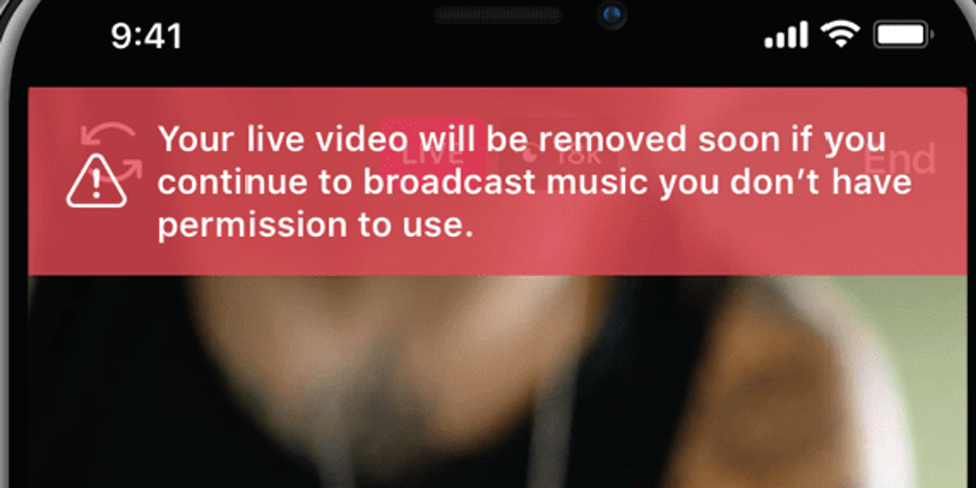 Got your livestream muted on Instagram Live? Here's how you can prevent that from ruining your day