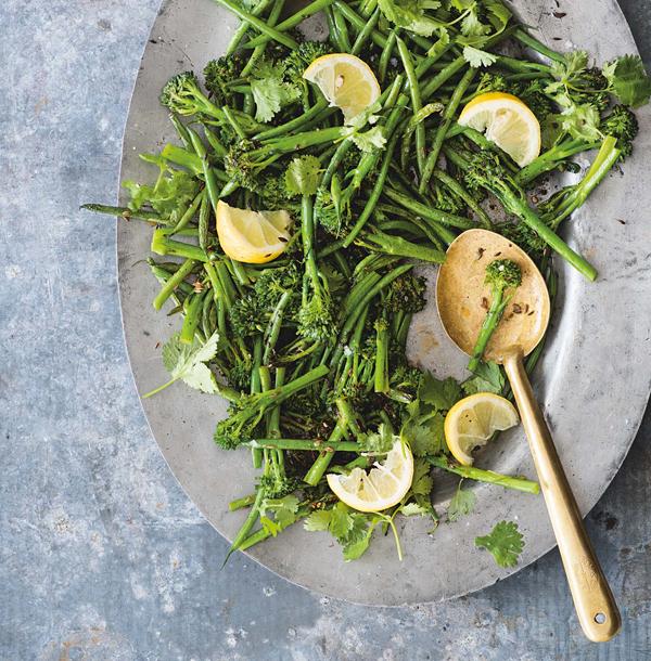 Mallika Basu's broccoli dish