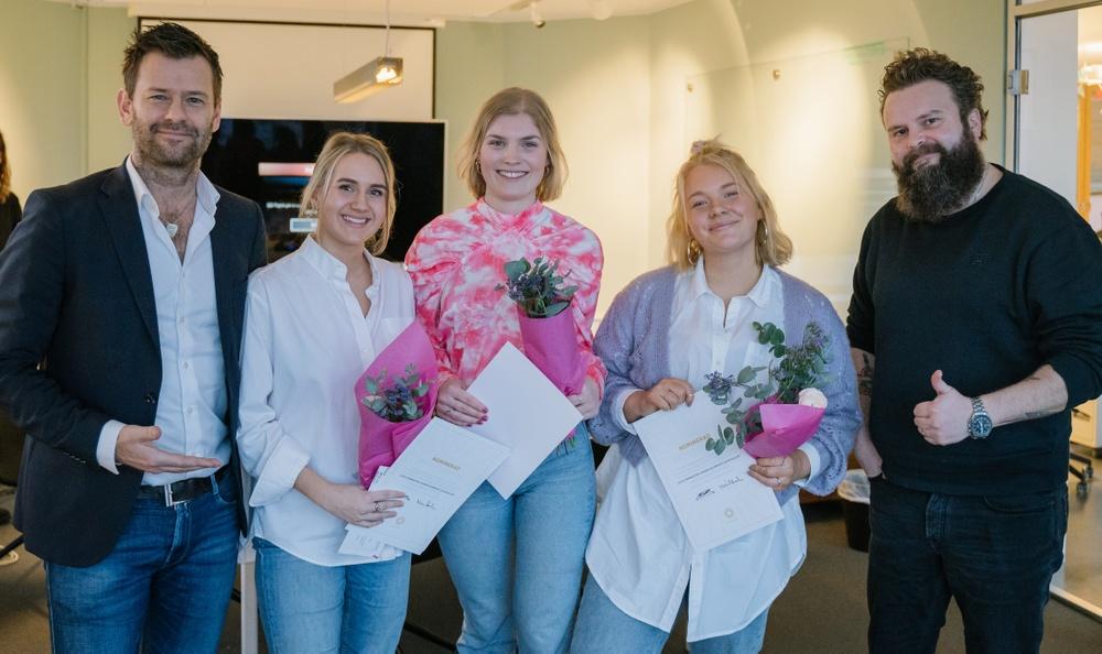 Alice Trennestam, Amanda Blomqvist, Elin Kallur - Vinnare Årets Studenthjul 2020