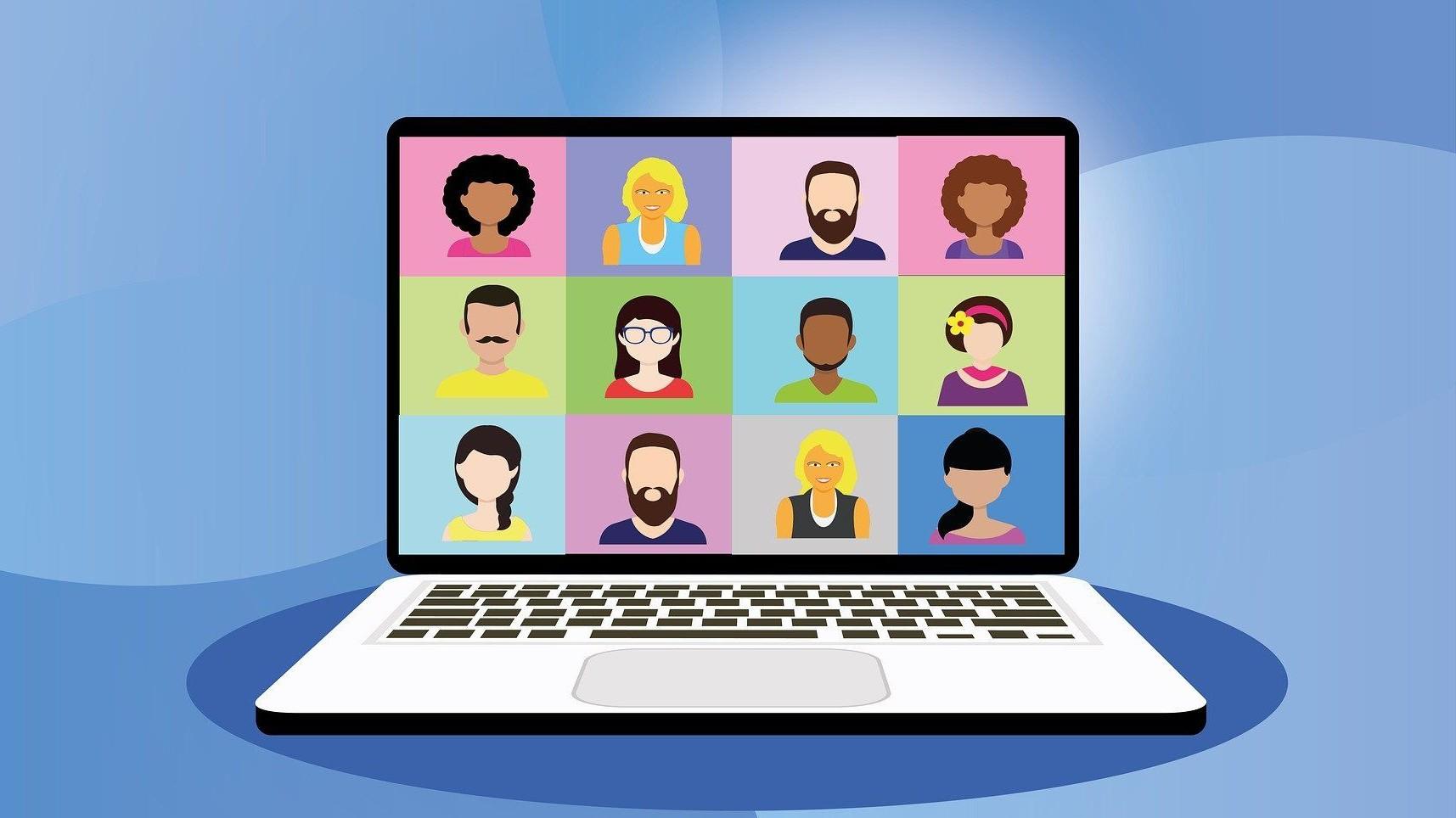 Représentation de la formation : Etre plus à l'aise dans l'animation de réunion en visioconférence