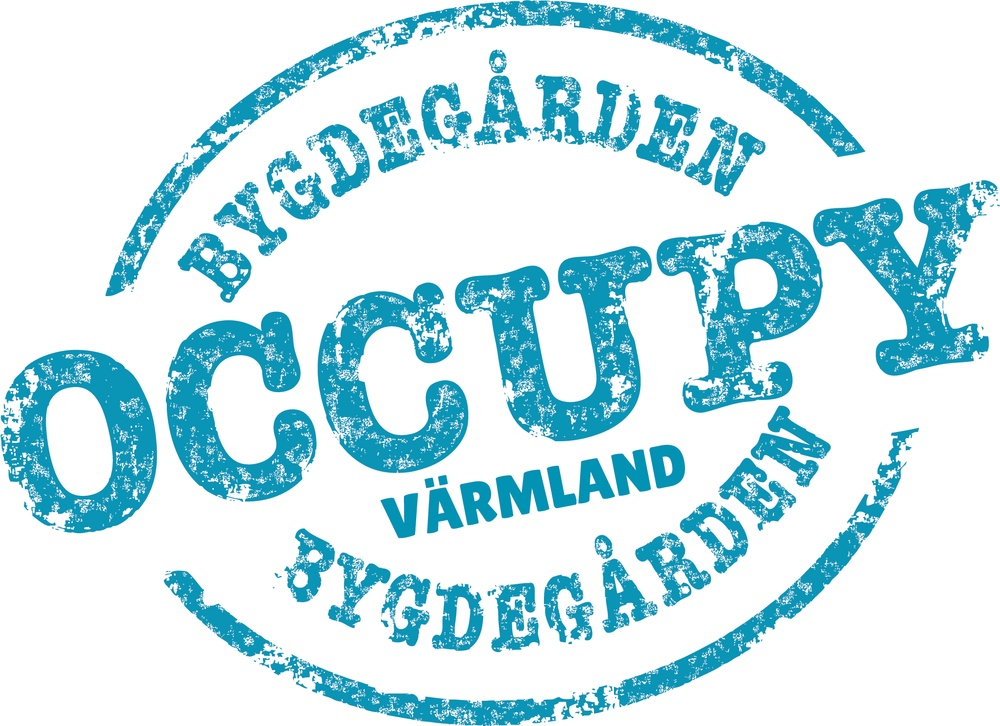 Logotyp för ungdomsprojektet Occupy Bygdegården Värmland
