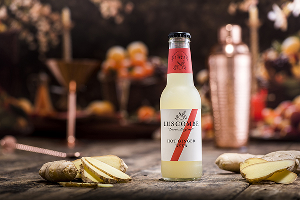 Luscombe's hot ginger beer