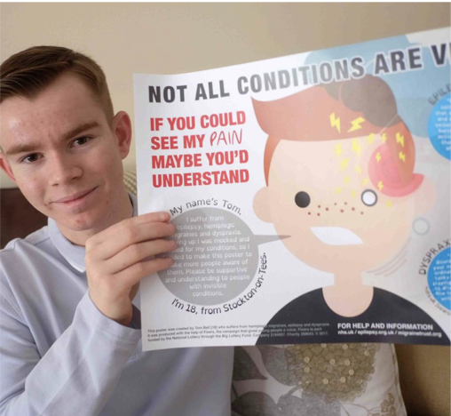 Teen with Epilepsy Raises Awareness for Invisible Illnesses
