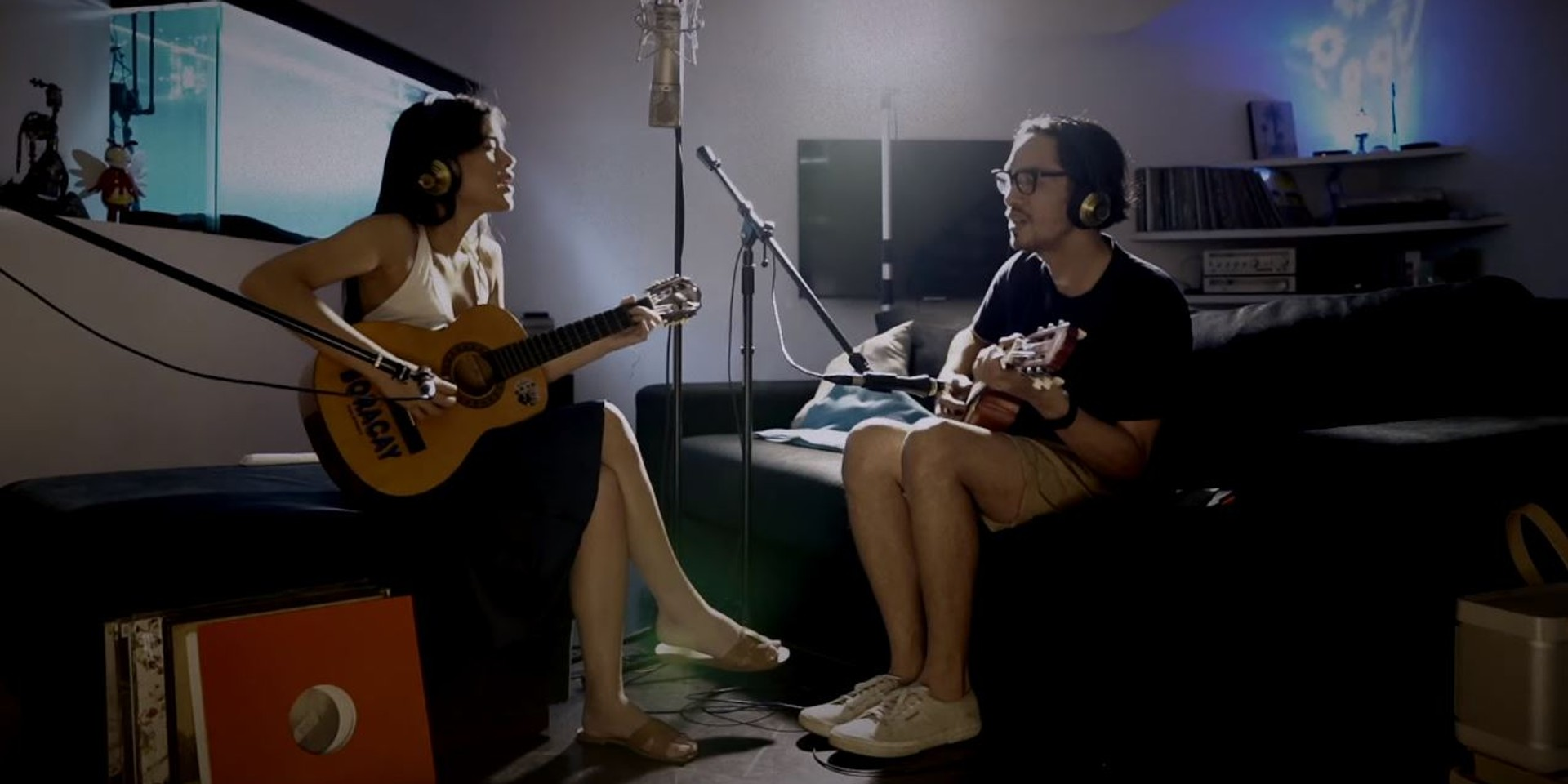 Rico Blanco and Maris Racal release stripped down version of 'Abot Langit' – watch