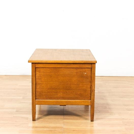 Gunn classic american oak writing desk loveseat for Classic furniture los angeles