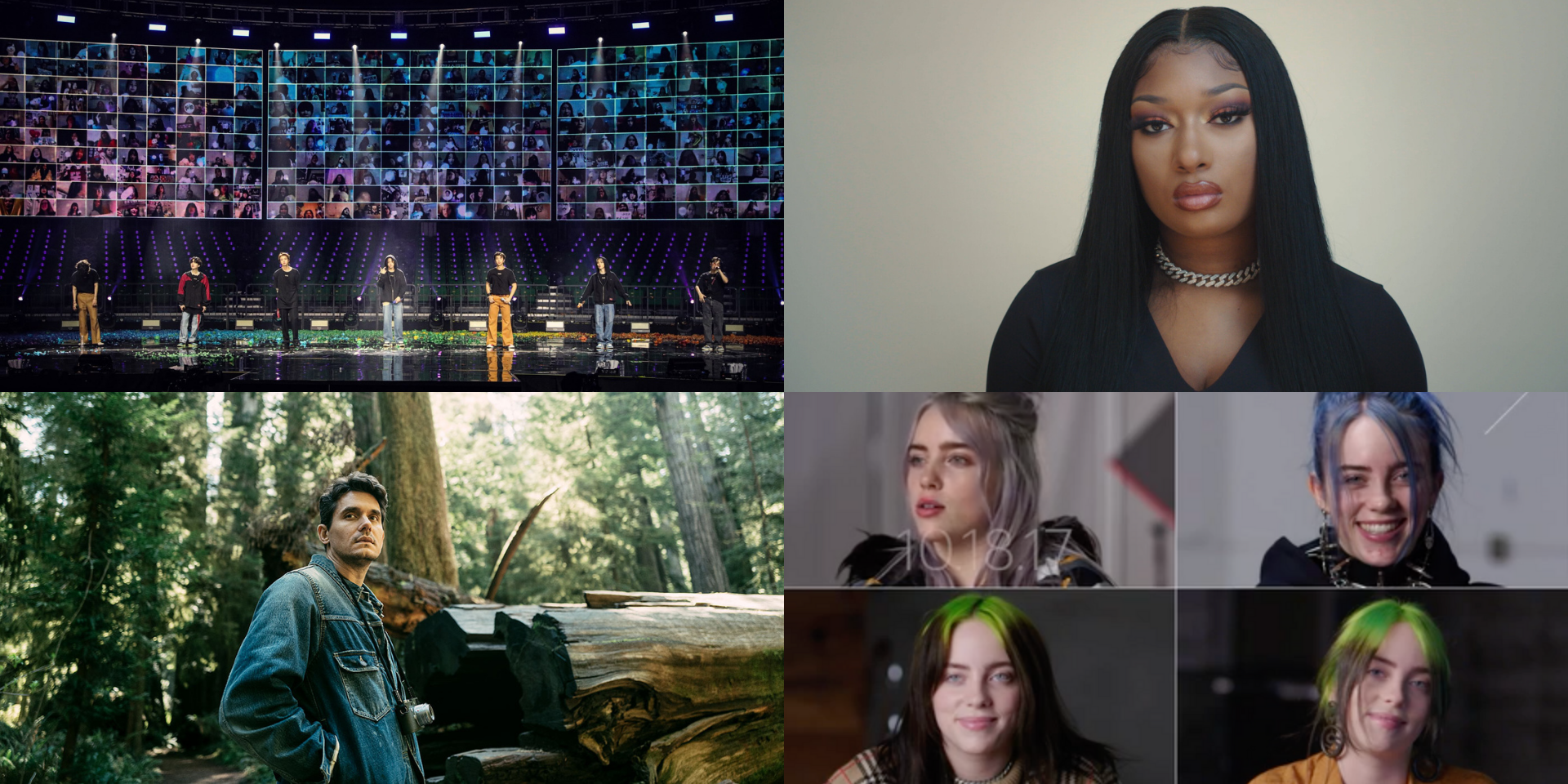 Billie Eilish, BTS, John Mayer, Megan Thee Stallion, and more are nominated at the 25th Webby Awards