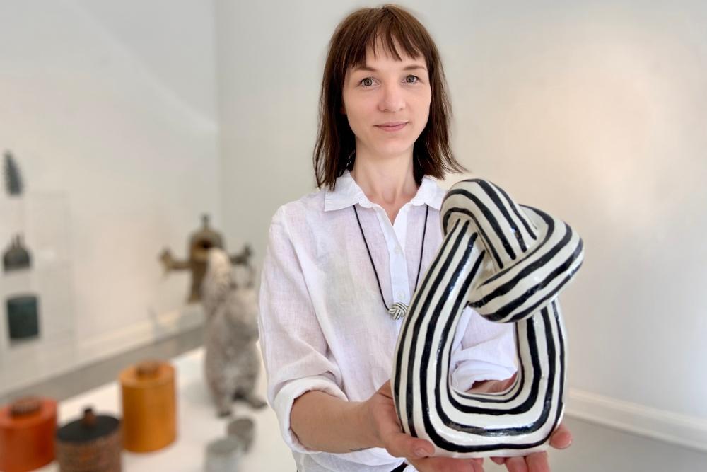 Tove Tengås svartvita knut har setts i många inredningsreportage under året. Via Bildupphovsrätt avtal med Sveriges Tidskrifter får hon ersättning för detta. Foto: Emma Grip