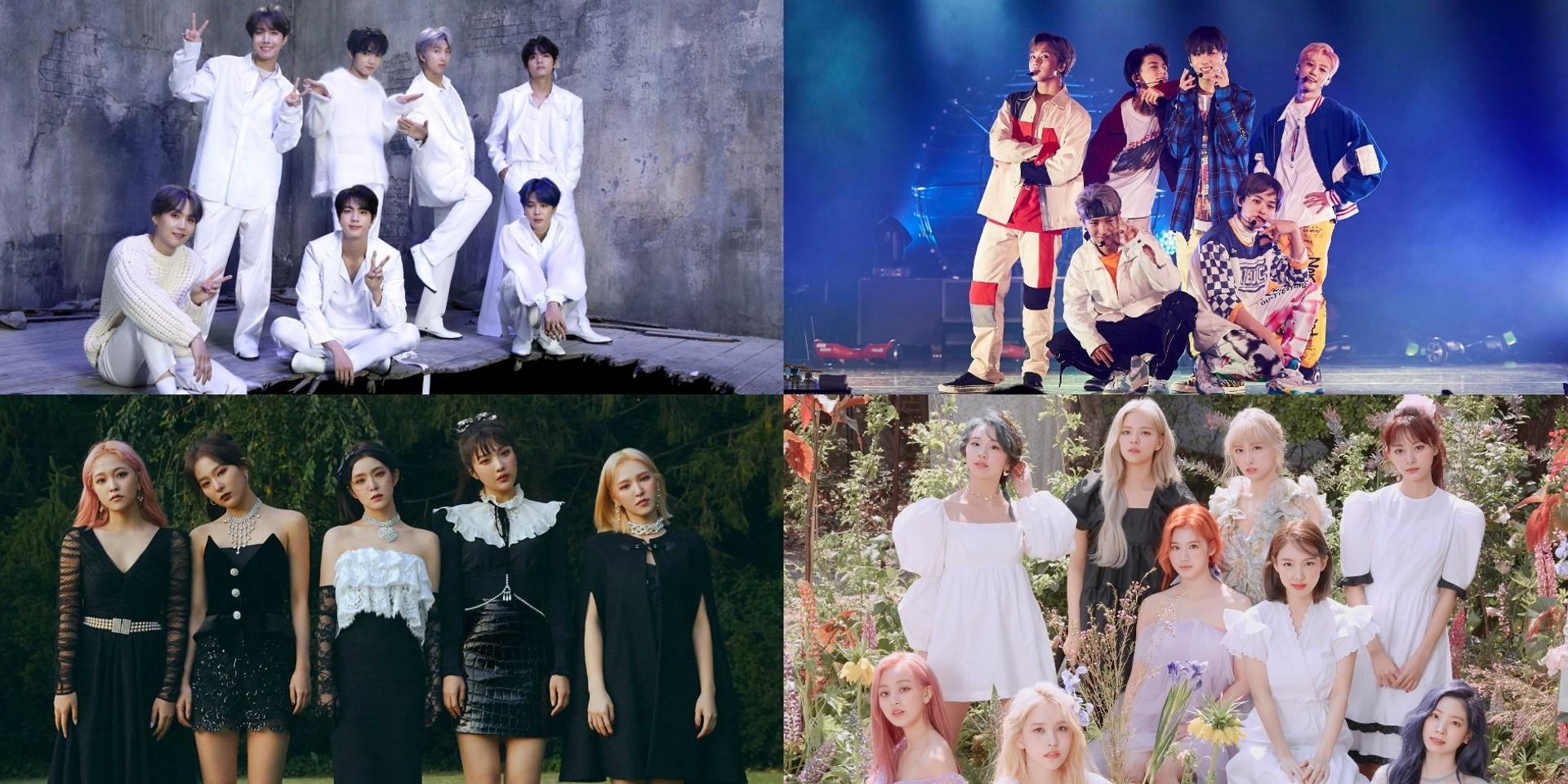 Here are the winners of the 2020 Soribada Best K-Music Awards
