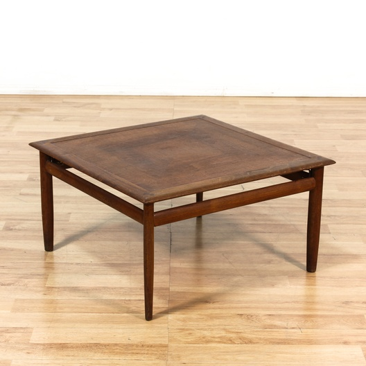 small mid century modern square coffee table loveseat com los angeles