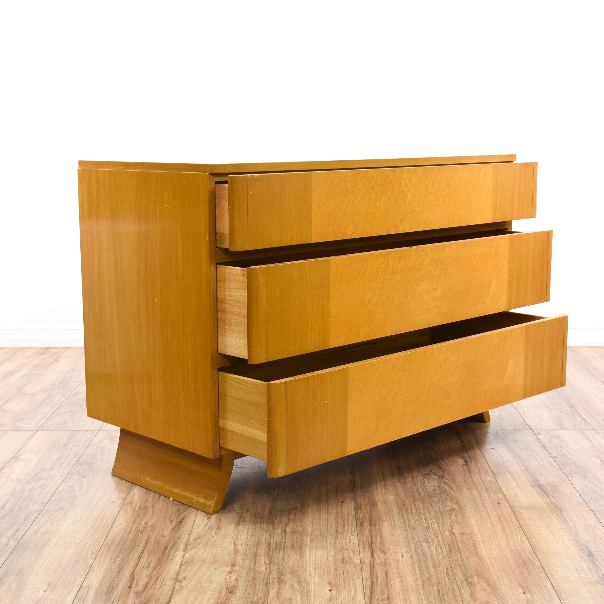 Quot Rway Quot Mid Century Modern Blonde Mahogany Dresser
