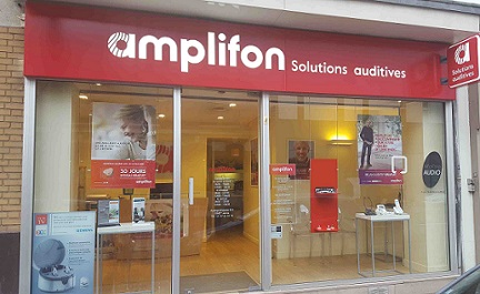 Photo du centre Amplifon de Asnières sur Seine