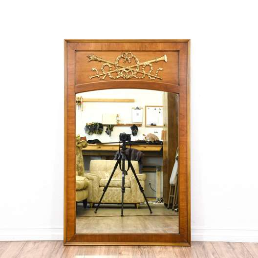 Neoclassical Carved Accent Mirror