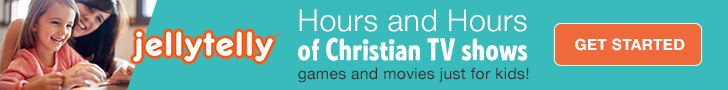 JellyTelly - Hours and Hours of Christian TV Shows games and movies just for kids!