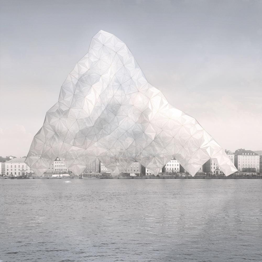 """Kristalltider"". Ritning: Tor Lindstrand (2019)"