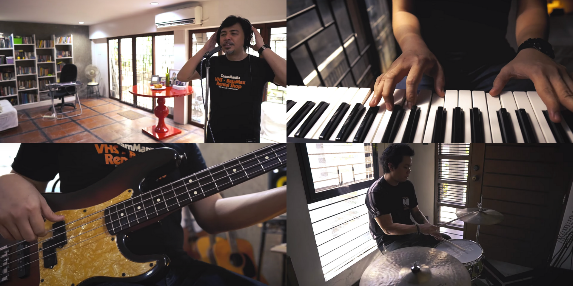 Buddy Zabala and Raymund Marasigan come together as Ultracombo for the Eraserheads' 'Tama Ka' – watch