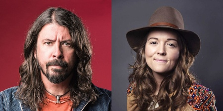 Brandi Carlile and Dave Grohl performed surprise busking session in Seattle