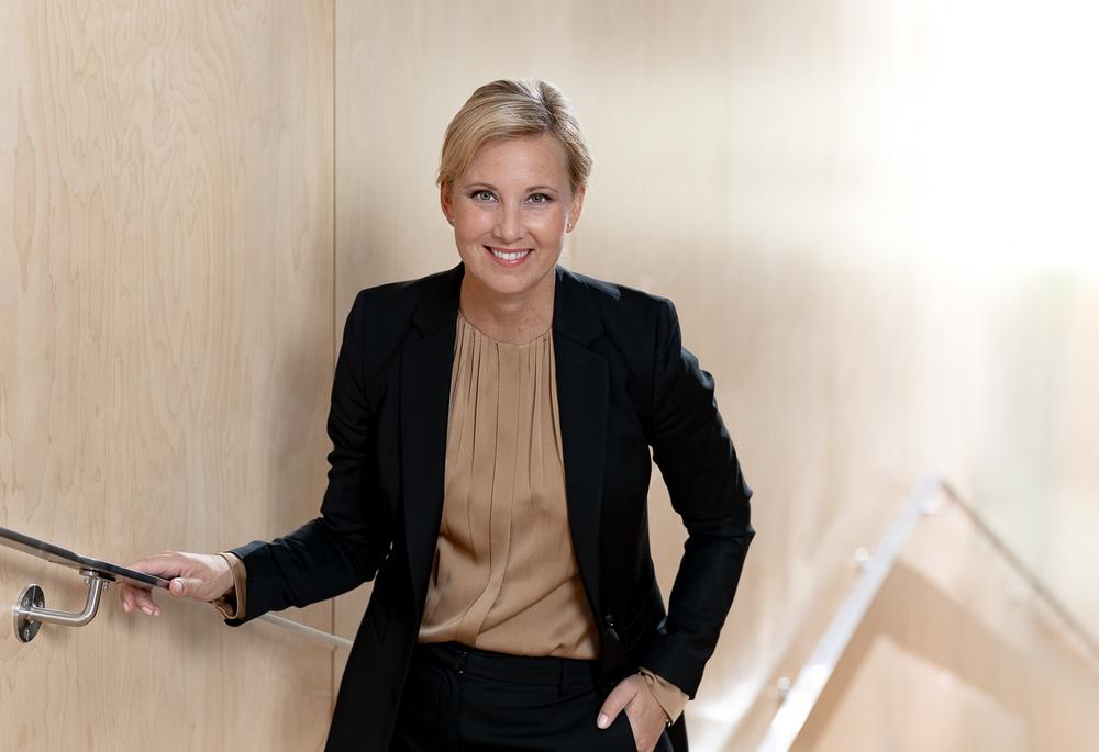 GPX Medicals vd Hanna Sjöström. Foto Roger Nellsjö.