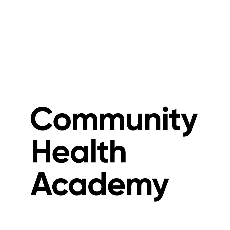 Community Health Academy Webinar Portal