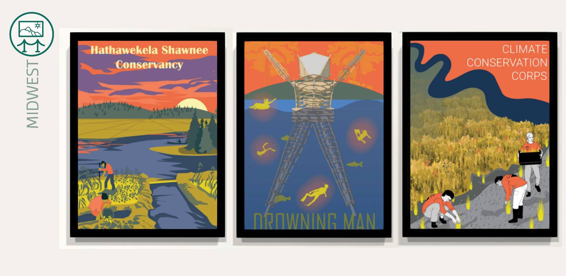 Exhibit: Midwest Poster series