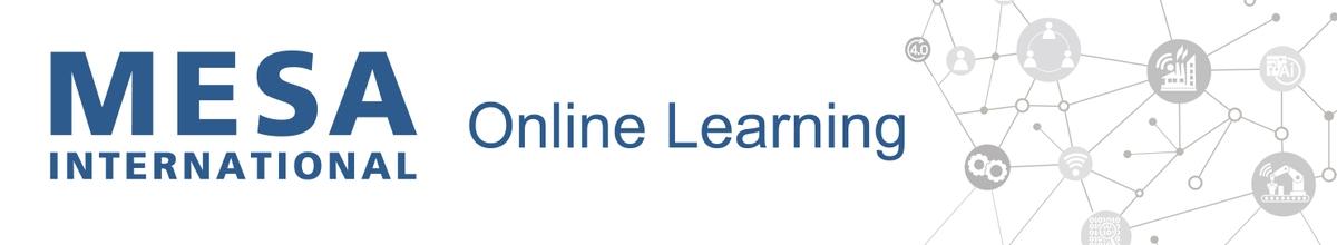 MESA International Online Training for Smart Manufacturing
