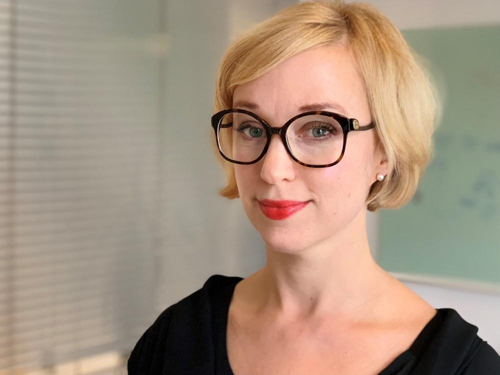 Sofie Grettve von Rosen, ansvarig för följerätt på organisationen Bildupphovsrätt. Foto: Emma Grip
