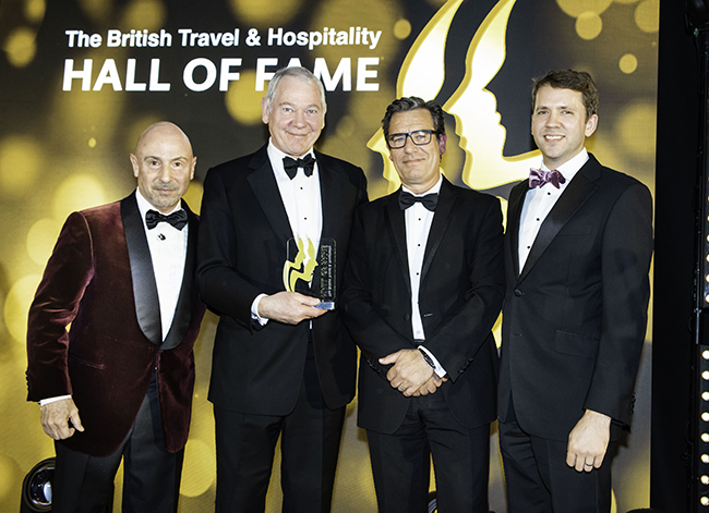 The British Travel & Hospitality Hall of Fame 2019.