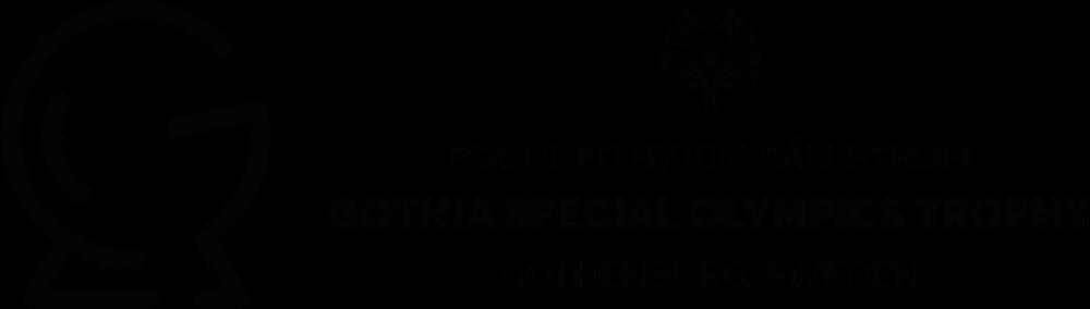 Gothia Special Olympics Trophy Logotype, Black