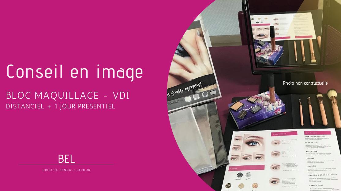 Représentation de la formation : Animation Maquillage VDI