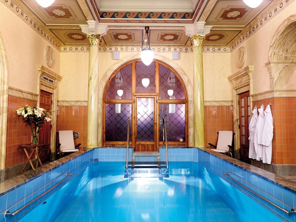 Vår privata k-märkta badvåning, det Turkiska Badet.