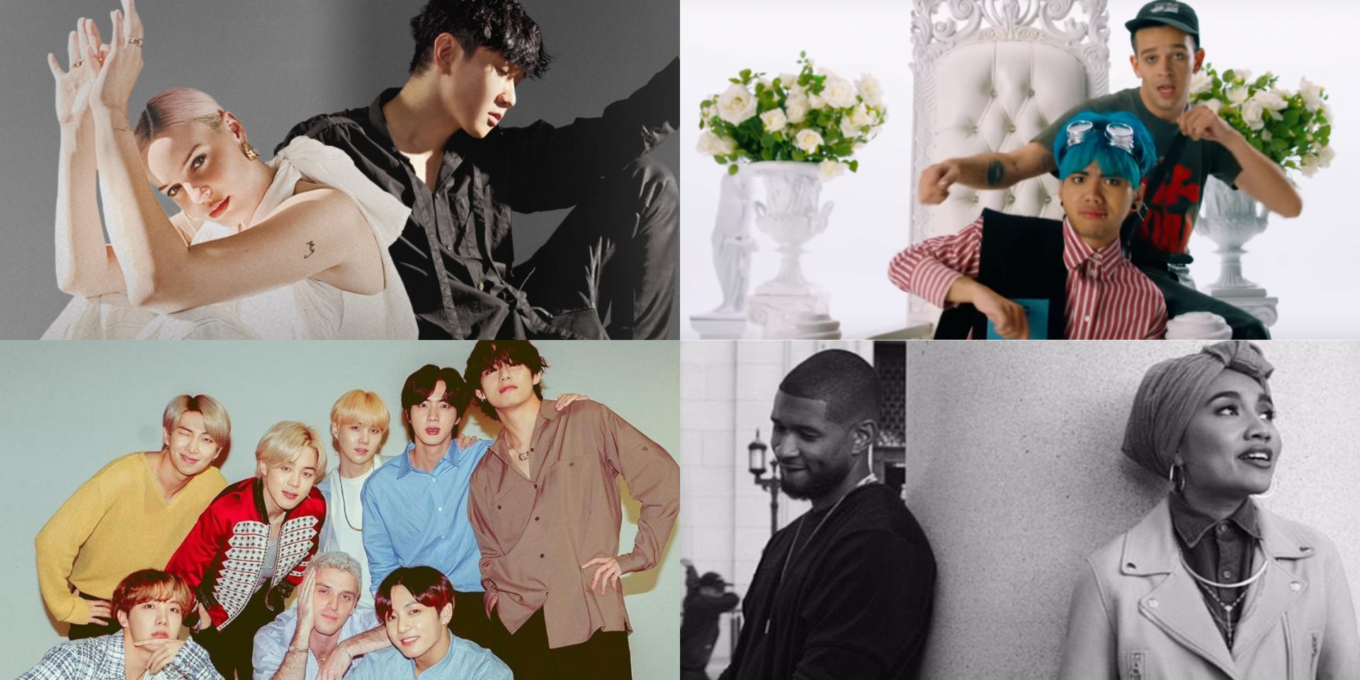 14 Asian and Western collaborations featuring JJ Lin, Yuna, BTS, No Rome, and more