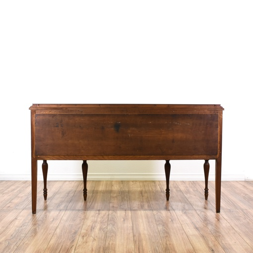 Neoclassical Antique 3 Drawer Sideboard Buffet