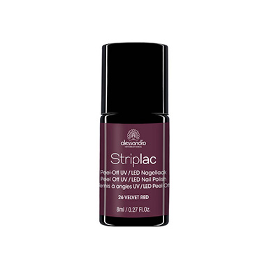 Vernis Striplac Velvet Red