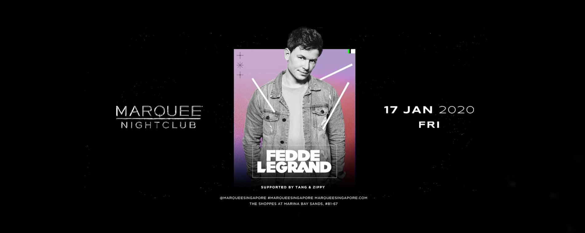 Marquee Singapore Presents Fedde Le Grand