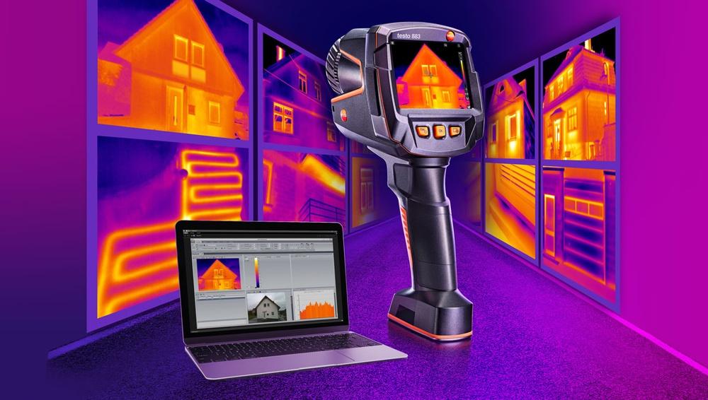 testo 883 – ett stort steg framåt för alla energikonsulter och byggnadstermograförer