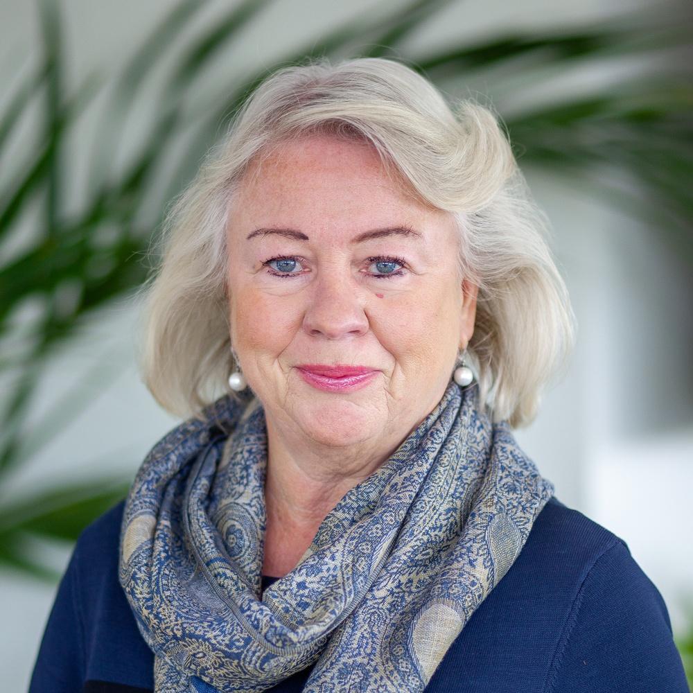 Birgitta Sköld (LP) kommunalråd, vice ordförande i kommunstyrelsen ordförande i omsorg- och socialnämnden