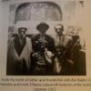 Tomb of Esther and Mordechai, Interior, Rabbi of Hamadan With Chayim Lalezaroff, Restorer of Tomb (Hamadan, Iran, 1952)