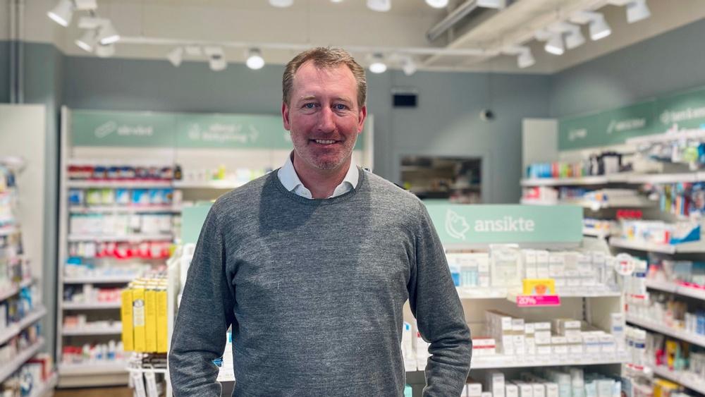 Mats Malmgren, ny Regionchef Apoteksgruppen. Foto: Hanna Dewrang