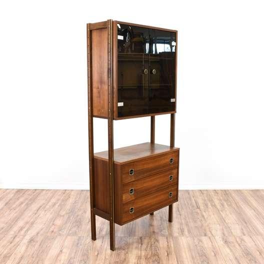 Mid Century Modern Shelf Unit Display Case